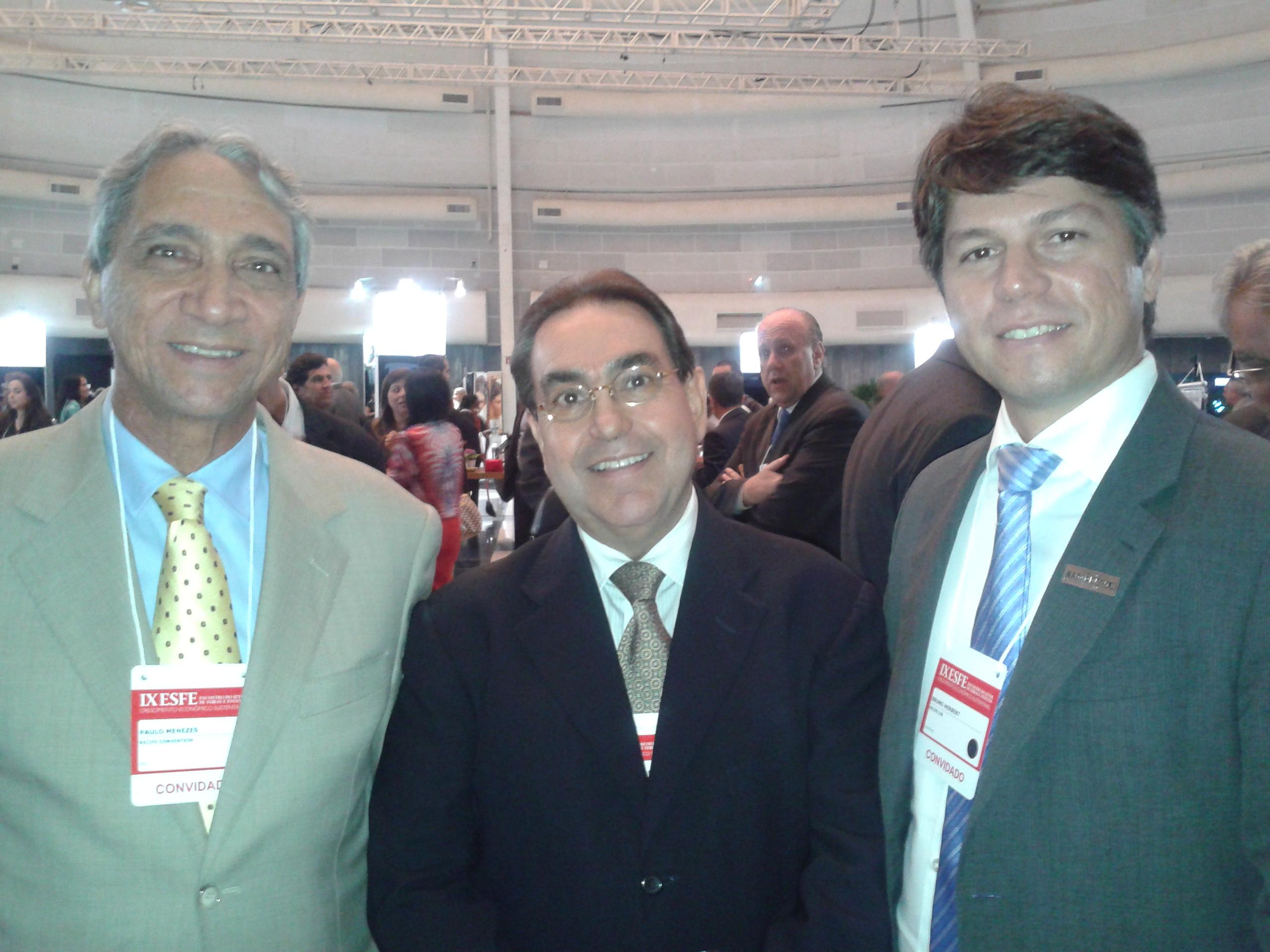 Recife convention presidente e conselheiro participam de eventos