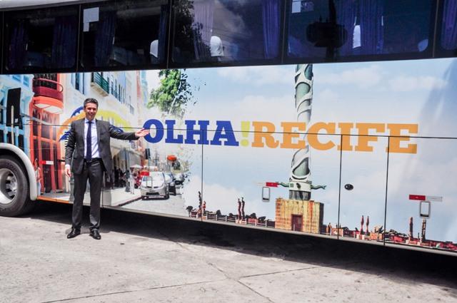 Coletiva de lançamento do OLHA Recife.